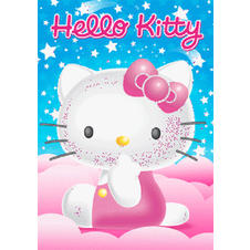 Hello Kitty 3D Poster Stars