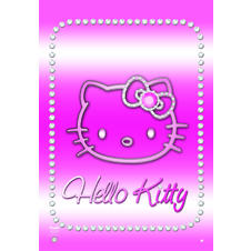 Hello Kitty Poster Bling