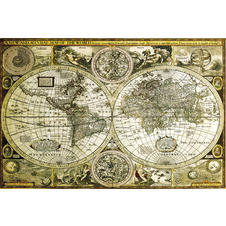 Historical worldmap Poster