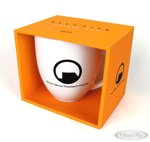 Half-Life Kaffeetasse Black Mesa Research Facility