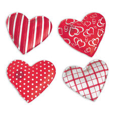 Hand Warmer Heart set (4 hearts)