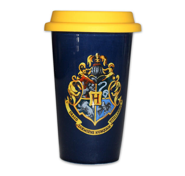 harry potter coffee to go becher mit hogwarts wappen bei. Black Bedroom Furniture Sets. Home Design Ideas