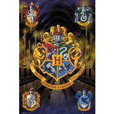 Harry Potter Poster Hogwarts