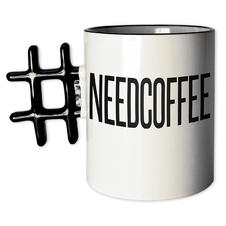 Hashtag Tasse NEEDCOFFEE