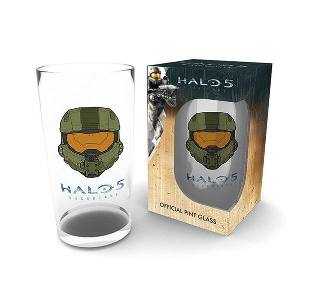 Halo 5 Guardians Pint Glas