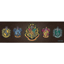 Harry Potter Poster - Escutcheons