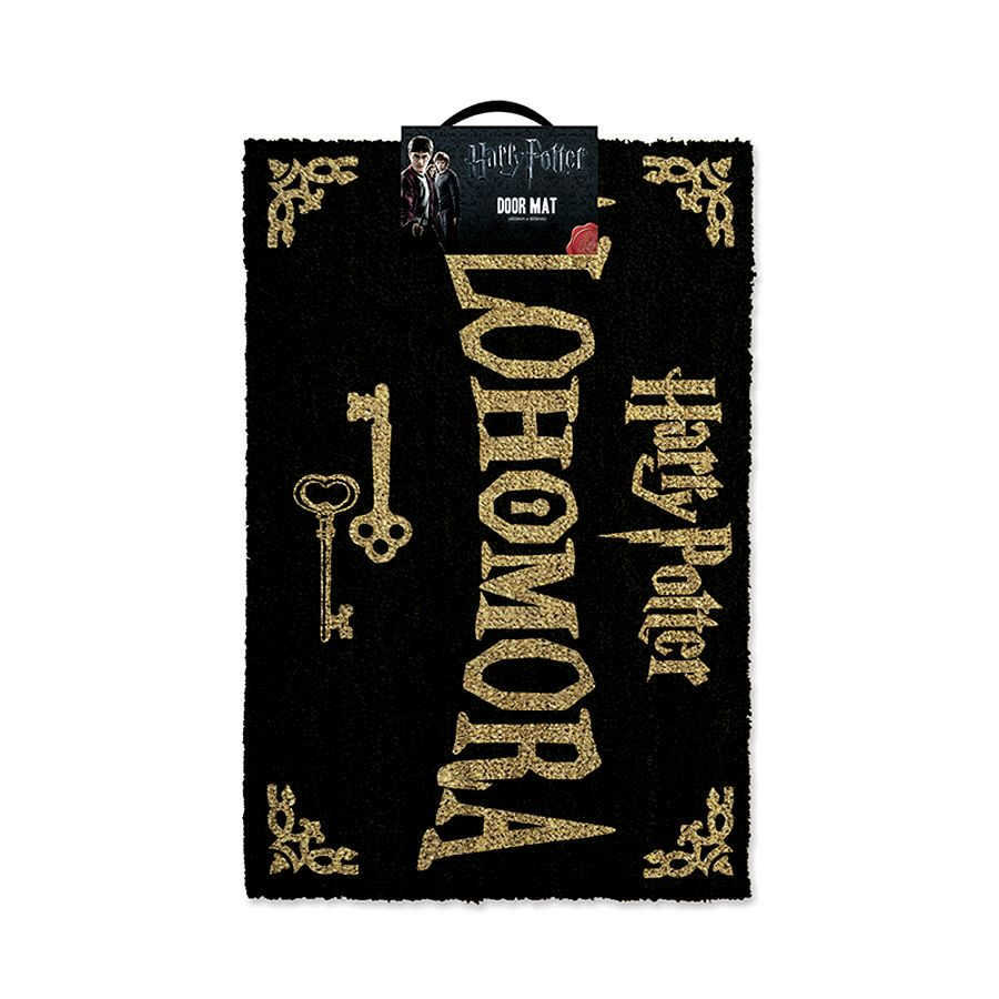 harry potter fu matte alohomora 40x60 cm mit pvc r ckseite. Black Bedroom Furniture Sets. Home Design Ideas