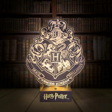 Harry Potter Table Lamp - Hogwarts Crest Light/