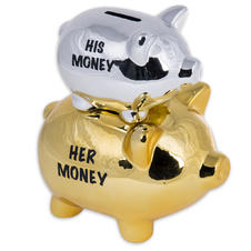 His Money & Her Money Moneybox -