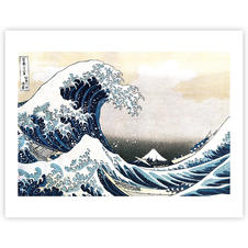 Hokusai Great Wave of