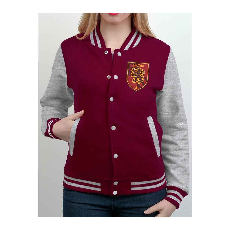 harry potter college jacke gryffindor jacken hosen pullover jetzt im shop bestellen close. Black Bedroom Furniture Sets. Home Design Ideas