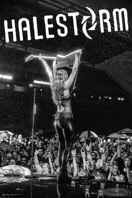 Halestorm Poster Lzzy Hale