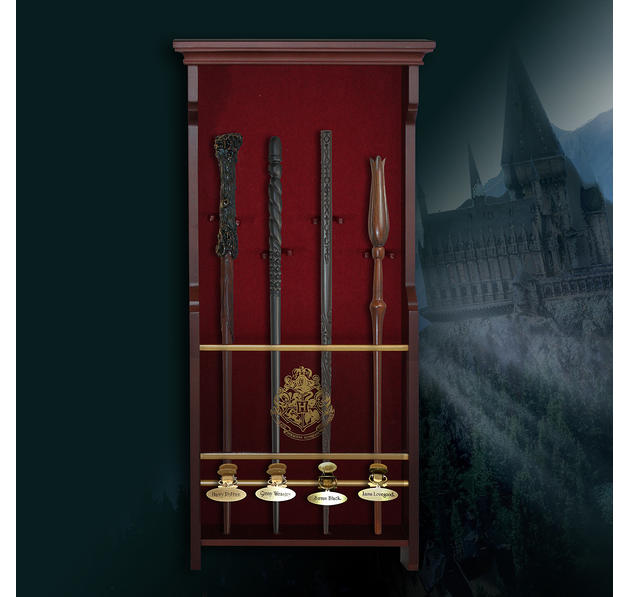 harry potter wandhalter f r 4 zauberst be. Black Bedroom Furniture Sets. Home Design Ideas