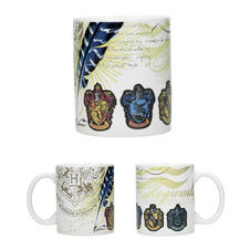Harry Potter Tasse Häuser-