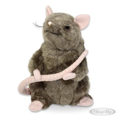 Harry Potter Plüschfigur Ratte Scabbers (Krätze) | Kinderzimmer > Spielzeuge > Stofftiere