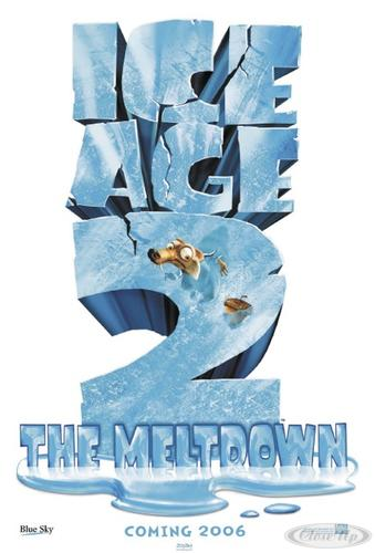 Ice Age 2 The Meltdown Poster Teaser