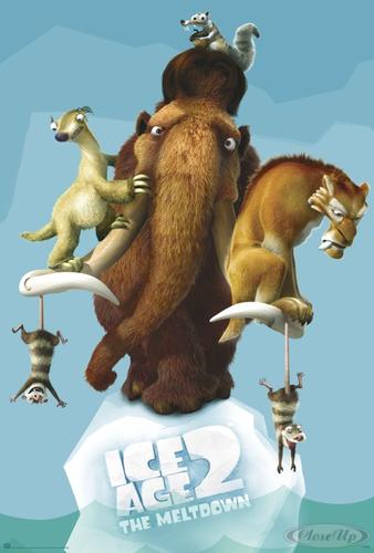 Ice Age 2 Poster The Meltdown