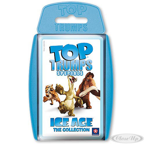 Ice Age Quartettkarten Top Trumps The Collection