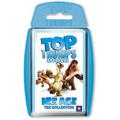 Ice age quatrain carton Top Trumps The Collection