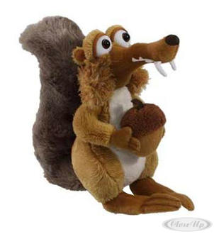 Ice Age 4 Scrat Plush Toy