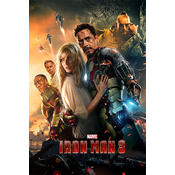 Iron Man 3 Poster movie poster