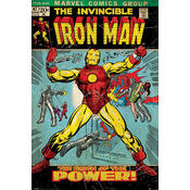 Iron Man Poster Birth of Power