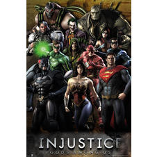 Injustice Poster Gods Among Us