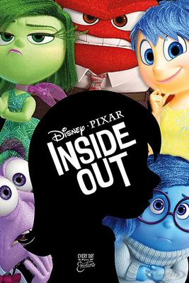 Inside Out Poster Alles steht Kopf Silhouette