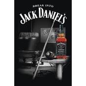 Jack Daniel's Poster Pool Billiard