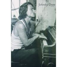 JOHNNY DEPP POSTER PIANO