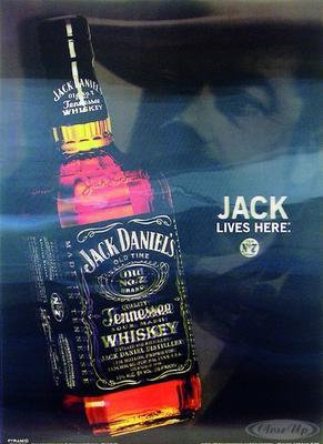 Jack Daniel´s 3D Poster