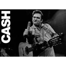 Johnny Cash XXL Poster Finger