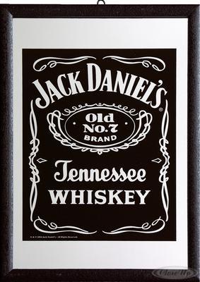 Jack Daniel´s Spiegel Black Label