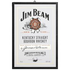 JIM BEAM MIRROR