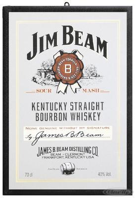 Jim Beam Spiegel Logo
