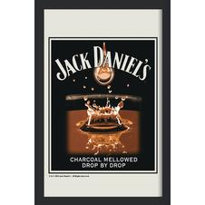JACK DANIEL'S MIRROR CHARCOALED