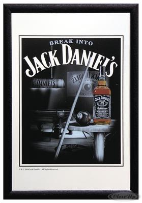 Jack Daniel´s Spiegel Snooker
