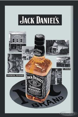 Jack Daniel´s Spiegel Bottle & Destillery