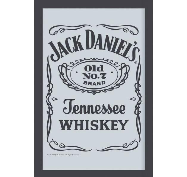 JACK DANIEL'S MIRROR LABEL