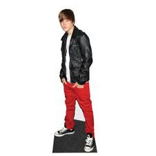 Justin Bieber Card board stand up
