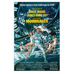 James Bond Poster Moonraker