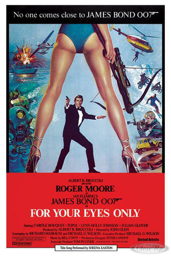 James Bond Poster For Your Eyes Only