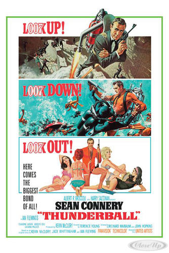 James Bond Poster Thunderball