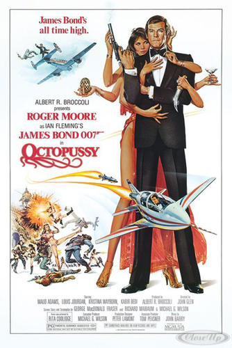 James Bond Poster Octopussy