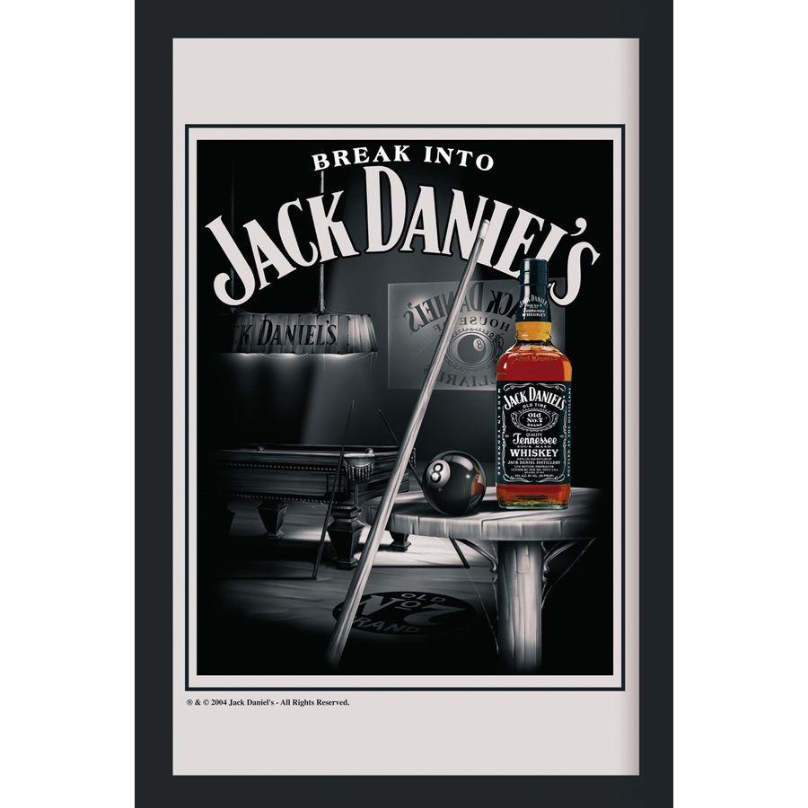 jack daniel 39 s xl spiegel snooker bei close up im fan store kaufen. Black Bedroom Furniture Sets. Home Design Ideas