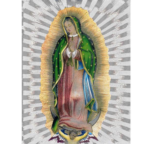 Die Jungfrau Maria von Guadalupe - adorarech