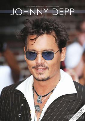 Johnny Depp Kalender 2017 Tributkalender