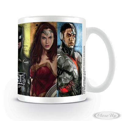 Justice League Tasse Hero Stripes jetztbilligerkaufen