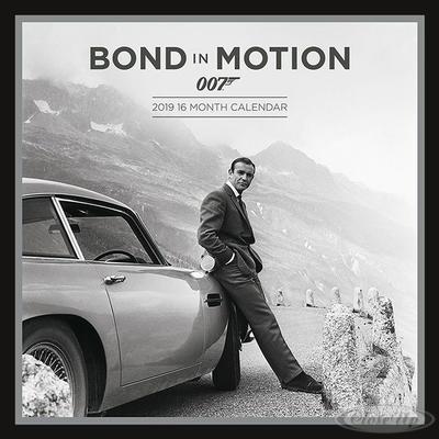 James Bond Kalender 2019