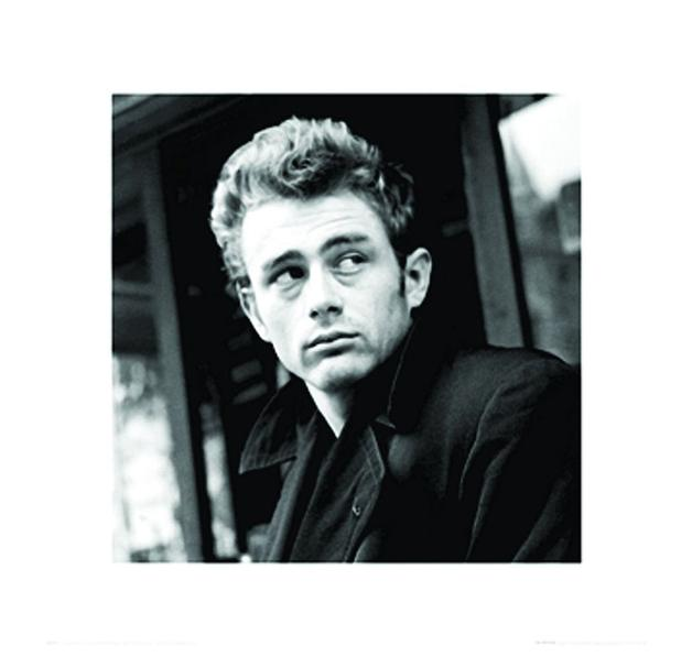 James Dean Kunstdruck Dreams
